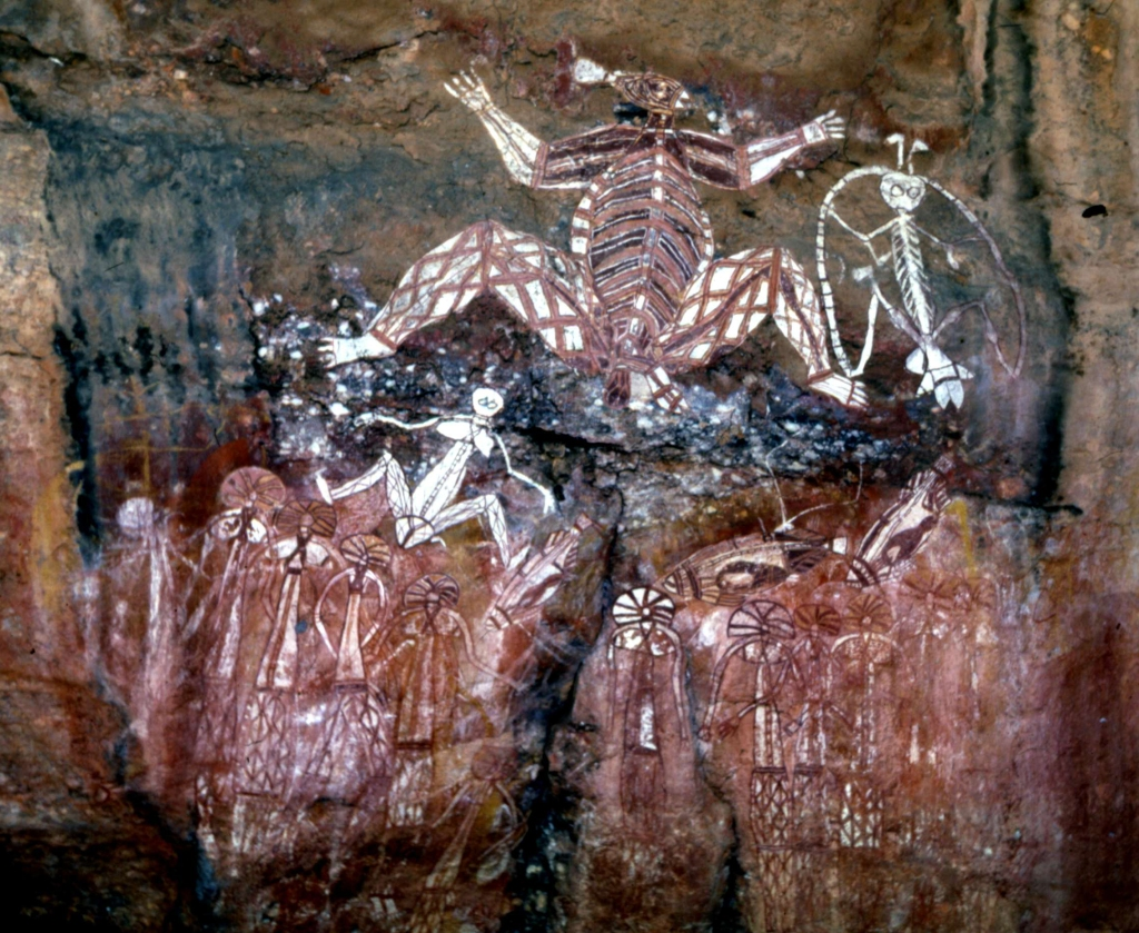 Aboriginal_dream_art-Kakadu_caves-III