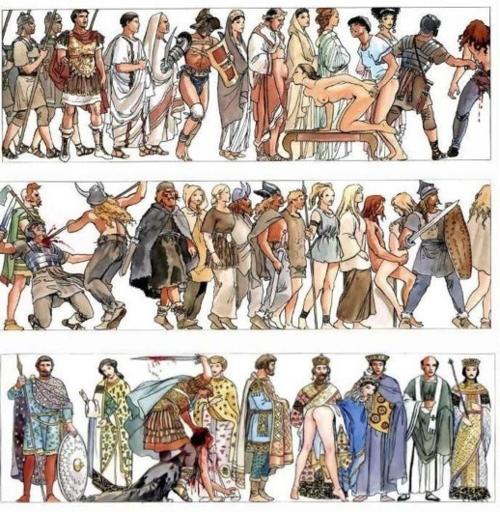 Milo Manara - Storia dell'Umanità-III