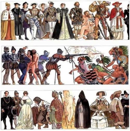 Milo Manara - Storia dell'Umanità-V