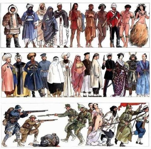 Milo Manara - Storia dell'Umanità-VII