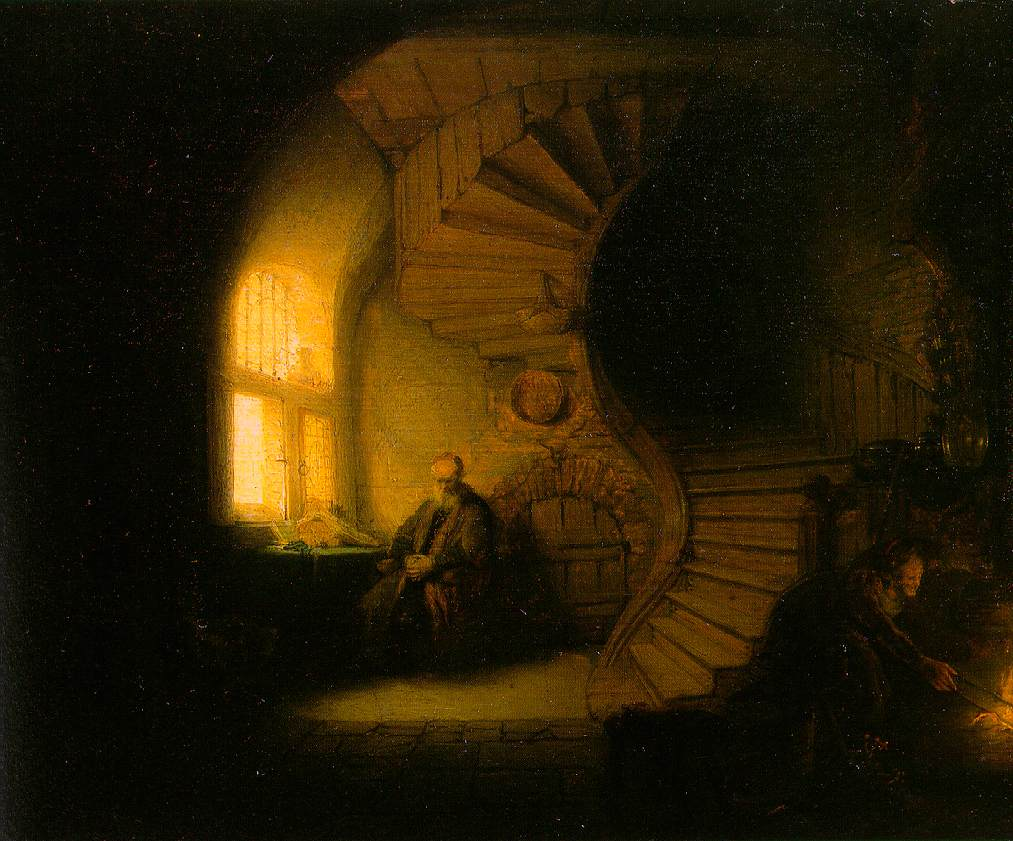 Rembrandt-The_Philosopher_in_Meditation-1632